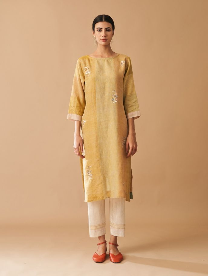 Mehsa Embroidered Kurta